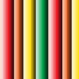Seamless multicolor stripped column abstract pattern Stock Images