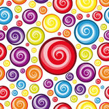 Seamless Multicolor  Wallpaper. Royalty Free Stock Photo
