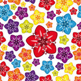 Seamless Multicolor  Wallpaper. Royalty Free Stock Photos