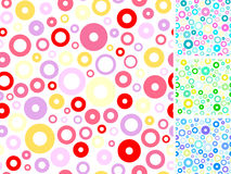 Seamless multicolored backgrounds s Stock Image