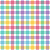 Seamless multicolored checkered pattern. Stock Images