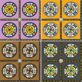 Seamless multicolored pattern Royalty Free Stock Photos