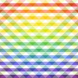 Art creative. Illustration. Seamless multicolored pattern. Checkered background. Abstract geometric wallpaper of the surface. Bright colors. Print for polygraphy Royalty Free Stock Photography
