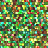 Seamless multicolored tiles background Stock Photography