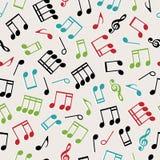 Seamless music Stock Image