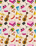 Seamless music pattern Royalty Free Stock Photography