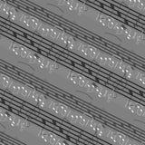 Seamless music pattern Stock Photos