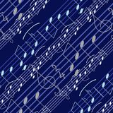 Seamless musical pattern Royalty Free Stock Photo