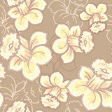 Seamless narcissus pattern Royalty Free Stock Photos
