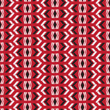 Seamless native vector pattern arrow on red background Royalty Free Stock Photography
