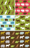 Seamless natural animal pattern, animal texture