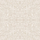 Seamless Natural Linen Pattern Royalty Free Stock Photo