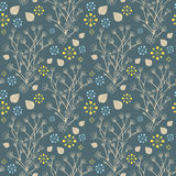 Seamless natural pattern Royalty Free Stock Photo