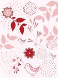 Seamless natural pattern background Royalty Free Stock Photos