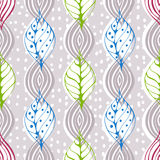 Seamless natural pattern Royalty Free Stock Images