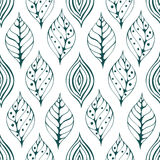 Seamless natural pattern Stock Photos