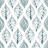 Seamless natural pattern Stock Photos