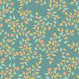Seamless Natural Retro pattern Royalty Free Stock Image