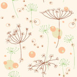 Seamless nature pattern Royalty Free Stock Photo