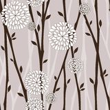 Seamless nature pattern stock photography