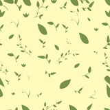 Seamless nature pattern Stock Photo