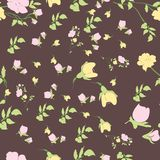 Seamless nature pattern Stock Photos