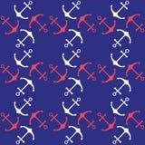 Seamless nautical pattern Royalty Free Stock Image