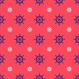Seamless nautical pattern Royalty Free Stock Photography
