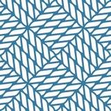 Seamless nautical rope knot pattern, fishing net Stock Image