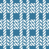 Seamless nautical rope knot pattern, fishing net Stock Images