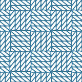 Seamless nautical rope knot pattern, lattice Royalty Free Stock Photography