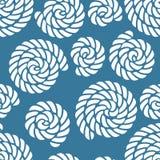Seamless nautical rope pattern Royalty Free Stock Photo