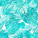 Seamless neo camouflage tropical summer pattern Stock Photos