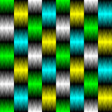 Seamless Neon Background. Vector Striped Texture Stock Image