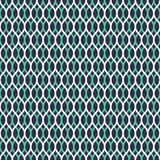 Seamless neon blue overlapping woven pattern vector. Seamless neon blue overlapping woven pattern Stock Photos