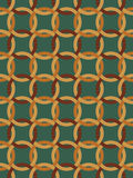 Seamless net pattern. Seamless pattern made of brown knots Royalty Free Stock Photos