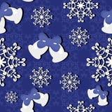 Seamless new year background Stock Image