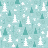Seamless New year pattern. Seamless New year and Christmas pattern Stock Photos