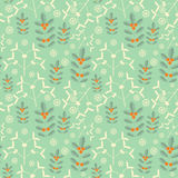 Seamless new year pattern Royalty Free Stock Images