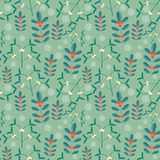 Seamless new year pattern Royalty Free Stock Image