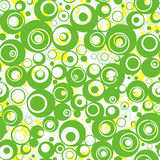 Seamless nice wallpaper. Vector illustration Stock Photography
