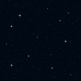Seamless night sky Royalty Free Stock Photos