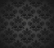 Seamless note book cover-Damask wallpaper Stock Images