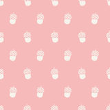 Seamless nut pattern Royalty Free Stock Photography
