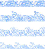 Seamless ocean wave Royalty Free Stock Images