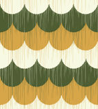 Seamless ocean wave fabric background Royalty Free Stock Image