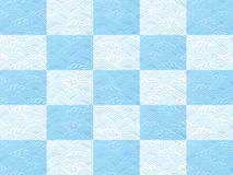 Seamless ocean wave pattern vector illustration