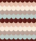 Seamless ocean wave textured pattern Stock Image