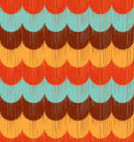Seamless ocean wave textured pattern Stock Photos
