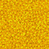 Seamless ocher crumb pattern, vector background Royalty Free Stock Photography